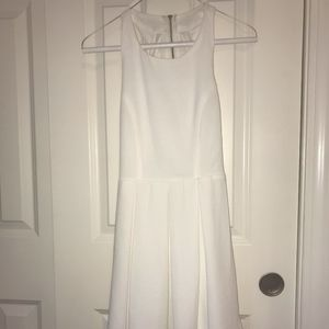 White Lulu*s Dress with Open Back